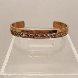 Sergio Lub Copper & Silver Cuff